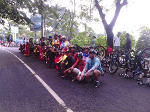 Riung mungpulung di lapangan Sempur Bogor